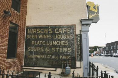 Original Exterior Sign